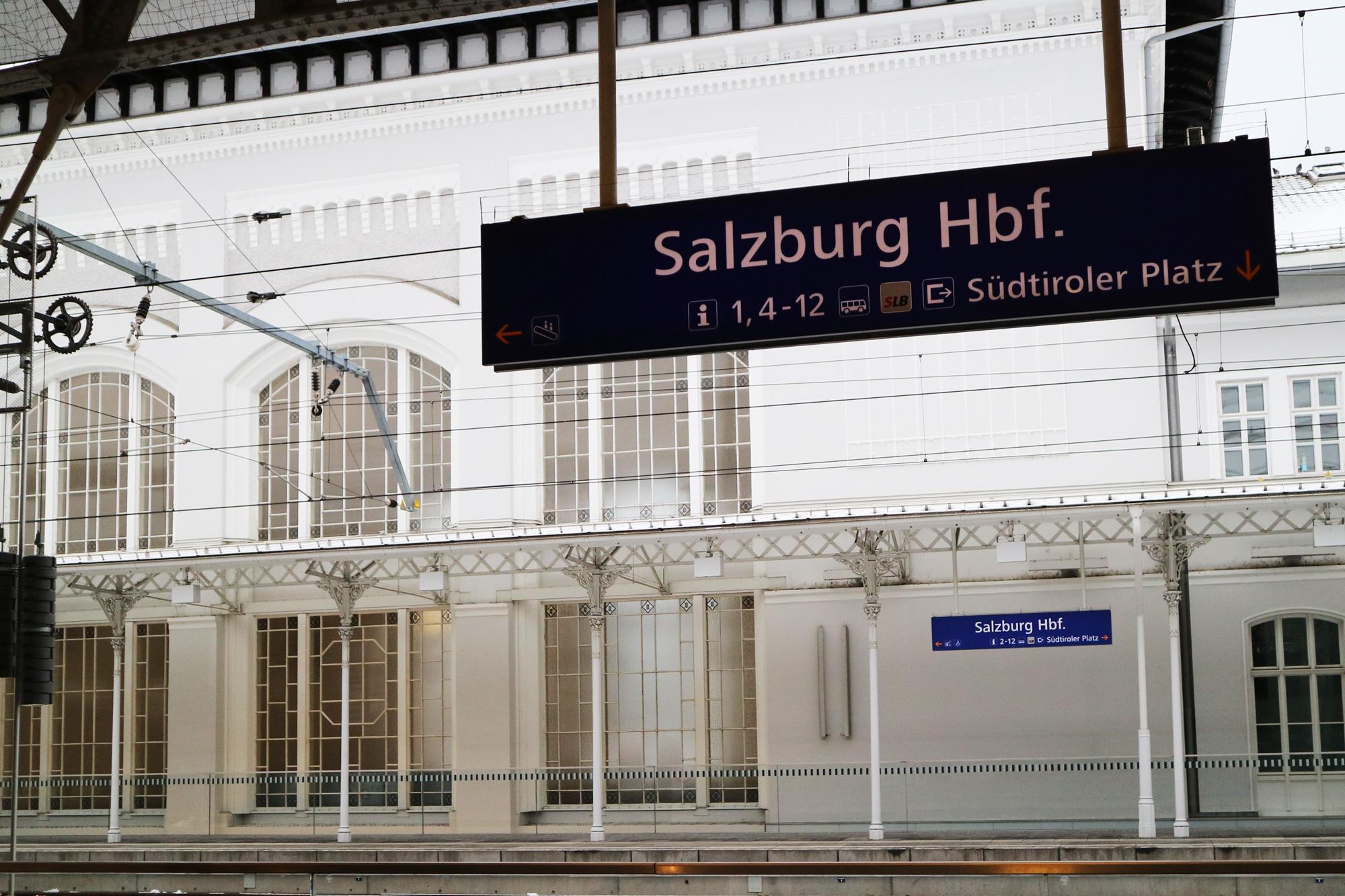 ザルツブルク中央駅(Salzburg Hbf.)